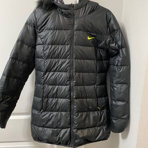 Nike Puffer Long Jacket - Reversible - women's M